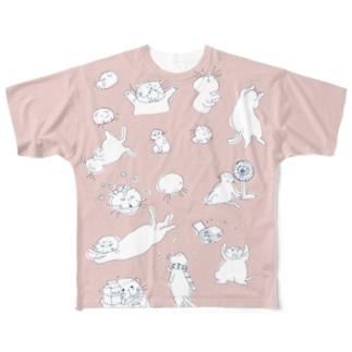 マルティ詰合せ桃色 Full graphic T-shirts