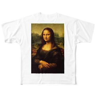 モナ・リザ Full graphic T-shirts