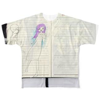 ナイーブなきもち Full graphic T-shirts