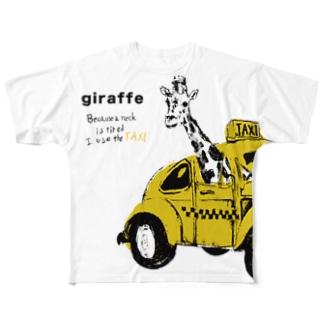 TAXI フルグラフィックTシャツ