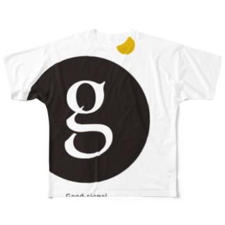グッドシグナル フルグラフィックTシャツ