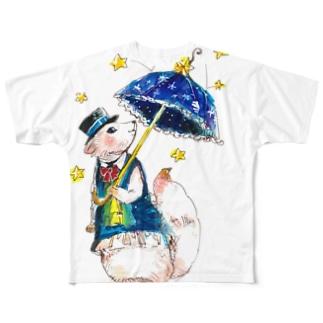 星屑散歩 Full graphic T-shirts