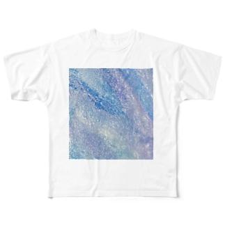 煌流 / Shining flow Full graphic T-shirts