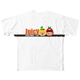 じゅーしーT フルグラフィックTシャツ