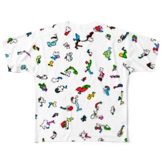 ぴと Full graphic T-shirts