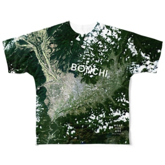 山梨県 甲府市 Full graphic T-shirts