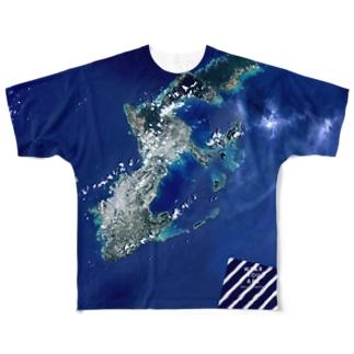 沖縄県 中頭郡 Full graphic T-shirts