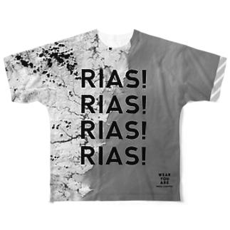 岩手県 釜石市 Full graphic T-shirts