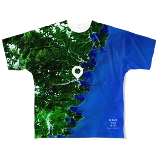 岩手県 釜石市 Full graphic T-shirts