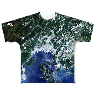 広島県 広島市 Full graphic T-shirts