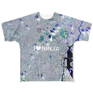 東京都 渋谷区 フルグラフィックTシャツ