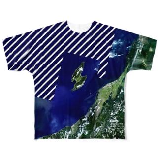新潟県 佐渡市 Full graphic T-shirts