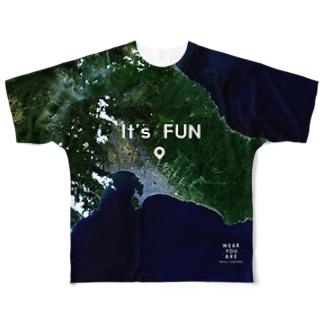 北海道 函館市 Full graphic T-shirts