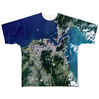 福岡県 北九州市 Full graphic T-shirts