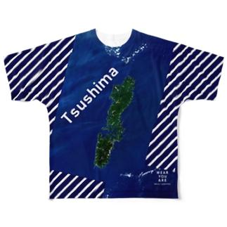長崎県 対馬市 Full graphic T-shirts