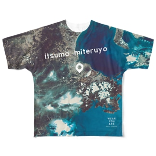 三重県 津市 Full graphic T-shirts