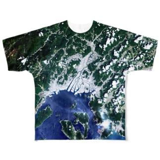 広島県 広島市 Full graphic T-shirts