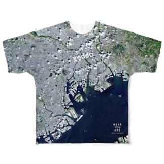 東京都 墨田区 Full graphic T-shirts