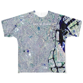 東京都 品川区 Full graphic T-shirts