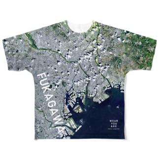 東京都 首都高速中央環状線 Full graphic T-shirts