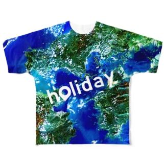 山口県 熊毛郡 Full graphic T-shirts
