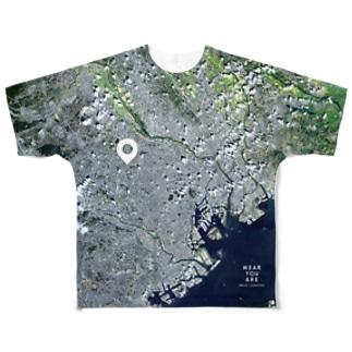 東京都 豊島区 Full graphic T-shirts