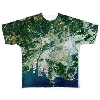 岡山県 総社市 Full graphic T-shirts