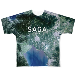 佐賀県 佐賀市 Full graphic T-shirts