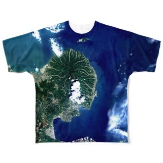 大分県 国東市 Full graphic T-shirts