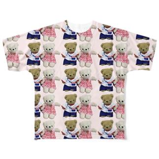 ヒロとユキの夏服 Full graphic T-shirts