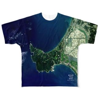 秋田県 男鹿市 Full graphic T-shirts