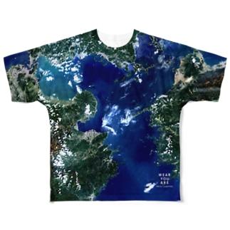 大分県 大分市 Full graphic T-shirts