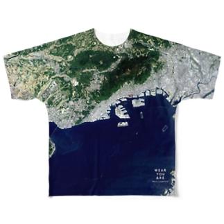 兵庫県 神戸市 Full graphic T-shirts