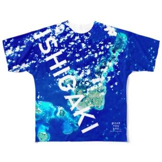 沖縄県 石垣市 Full graphic T-shirts