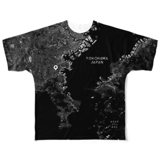 神奈川県 横須賀市 Full graphic T-shirts