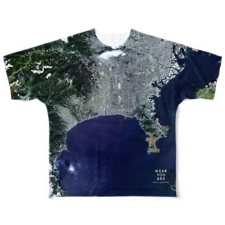 神奈川県 茅ヶ崎市 Full graphic T-shirts