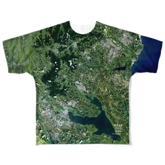 茨城県 石岡市 Full graphic T-shirts