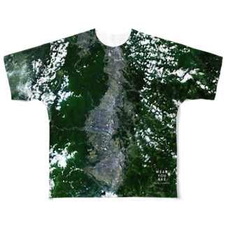 岩手県 花巻市 Full graphic T-shirts