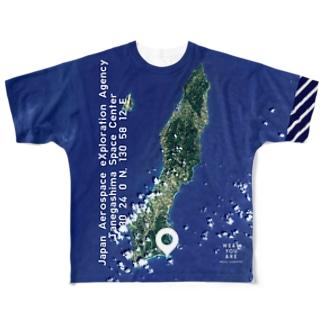 鹿児島県 熊毛郡 Full graphic T-shirts