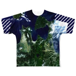 青森県 むつ市 Full graphic T-shirts