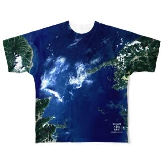 愛媛県 西宇和郡 Full graphic T-shirts
