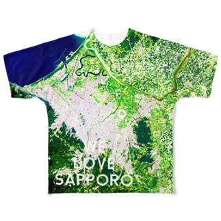 北海道 札幌市 Full graphic T-shirts