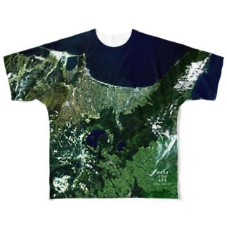 北海道 斜里郡 Full graphic T-shirts