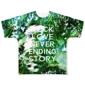 群馬県 吾妻郡 Full graphic T-shirts