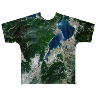 滋賀県 大津市 Full graphic T-shirts