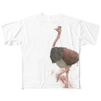 キング・オブ・ダチョウクラブ フルグラフィックTシャツ