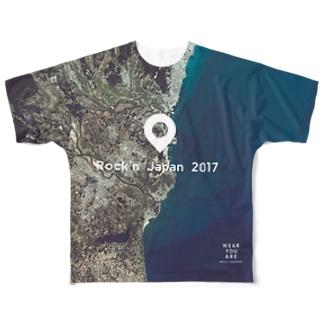 茨城県 那珂郡 Full graphic T-shirts
