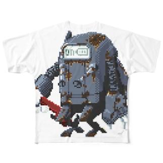 Rusted Fix Robin フルグラフィックTシャツ