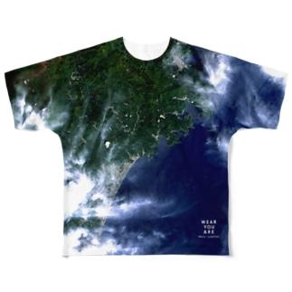 三重県 熊野市 Tシャツ 片面 Full graphic T-shirts