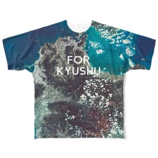 九州北部豪雨災害チャリティTシャツ両面 フルグラフィックTシャツ